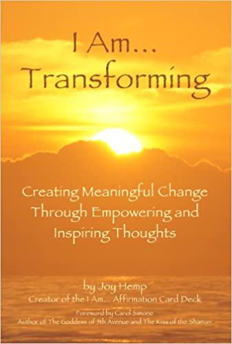 """""""I am…Transforming"""" Book Cover"""